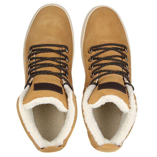 Кеды кроссовки утепленные Quiksilver Jax Xccw Brown/White