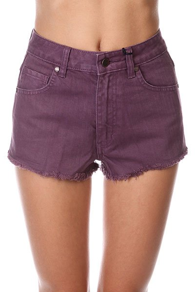 Шорты джинсовые женские Insight Plum Berry Purple