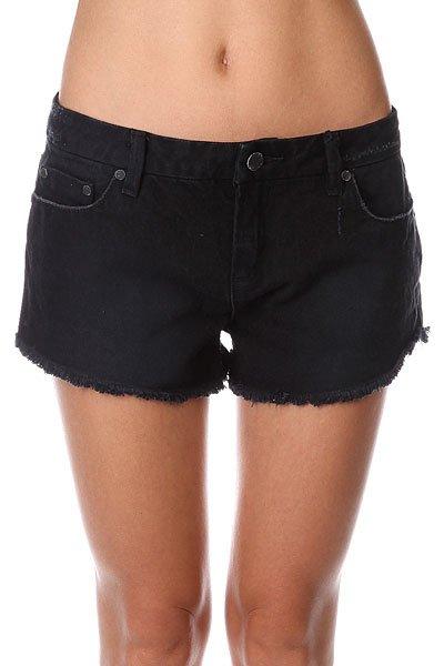 Шорты джинсовые женские Insight Pocket Rocket Short Black<br><br>Цвет: черный<br>Тип: Шорты джинсовые<br>Возраст: Взрослый<br>Пол: Женский