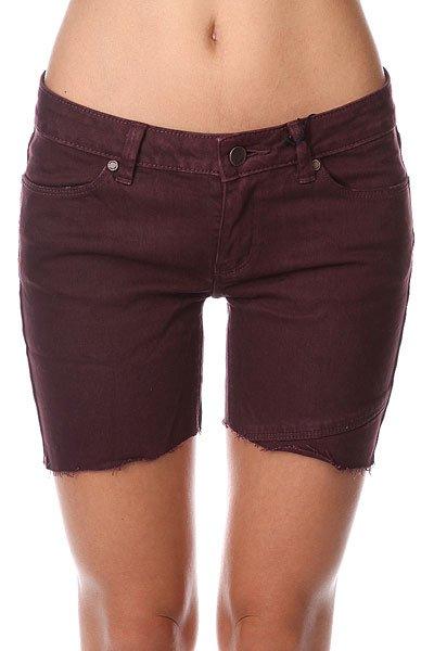 Шорты джинсовые женские Insight Shorts Evil Cherry<br><br>Цвет: фиолетовый<br>Тип: Шорты джинсовые<br>Возраст: Взрослый<br>Пол: Женский