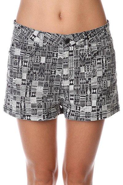 Шорты классические женские Insight Nomad Skater Dark Grey шорты джинсовые insight jeans grey acid