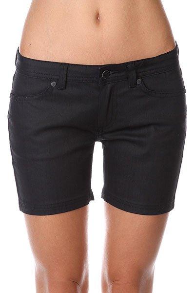 Шорты джинсовые женские Insight Short Black шорты джинсовые insight jeans grey acid