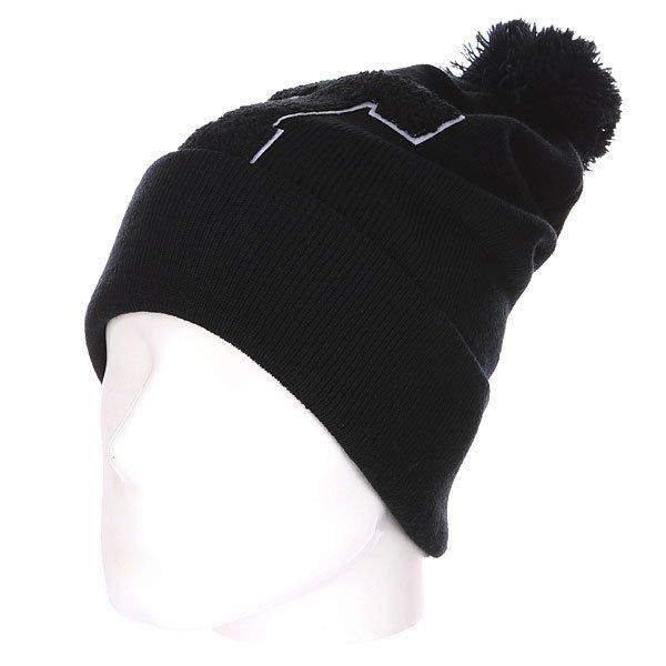 Шапка с помпоном TrueSpin Abc Pompom Beanie T Black<br><br>Цвет: черный<br>Тип: Шапка<br>Возраст: Взрослый<br>Пол: Мужской