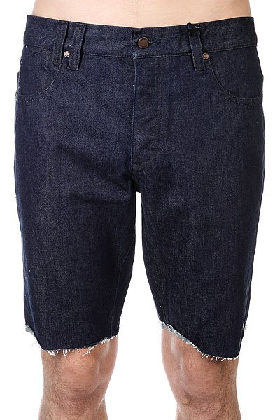 Шорты джинсовые Insight 114106a Indigo Rinse<br><br>Цвет: синий<br>Тип: Шорты джинсовые<br>Возраст: Взрослый<br>Пол: Мужской