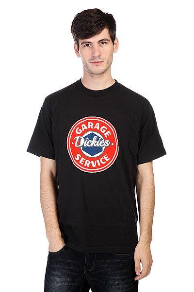 Футболка Dickies Garage Black<br><br>Цвет: черный<br>Тип: Футболка<br>Возраст: Взрослый<br>Пол: Мужской
