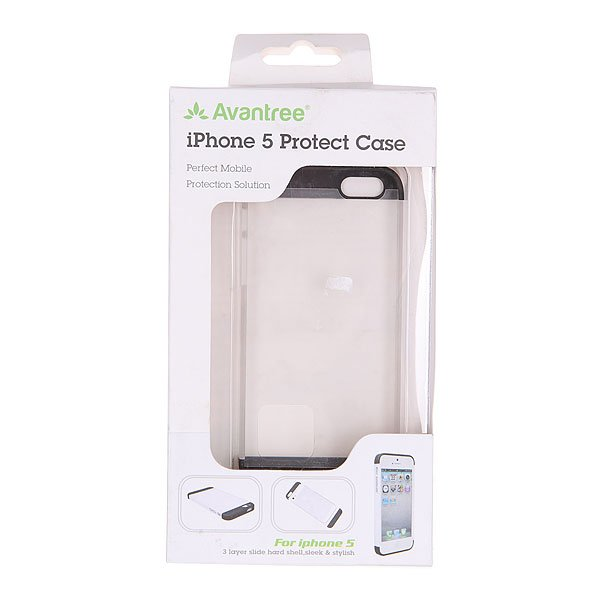 Чехол для Iphone 5 Avantree Kspc If5D White/Black