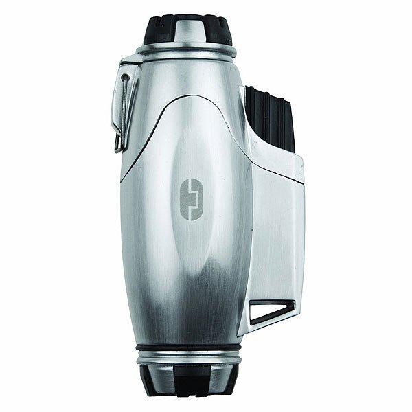 Зажигалка True Utility Turbojet Lighter Tu07 GreyВыполнена в оригинальном дизайне из специального сплава.Технические характеристики: Технология турбо пламени позволит использовать зажигалку даже при сильном ветре. Зажигалка многократно заправляется.<br><br>Цвет: серый,черный<br>Тип: Разное