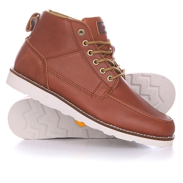 Ботинки Quiksilver Sheffield Boot Brown/White