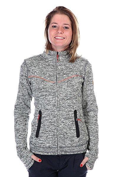 Толстовка сноубордическая женская Roxy Crystal Anthracite