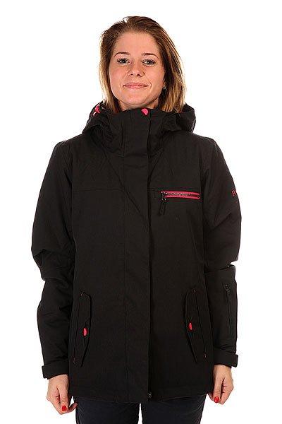 Куртка женская Roxy Jetty Solid Anthracite