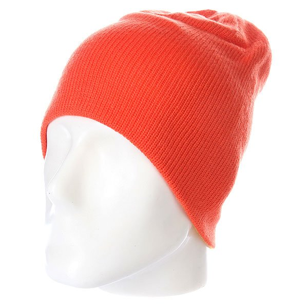 Шапка носок Volcom Circle Reversible Beanie Orange шапка kini red bull reversible beanie  серый