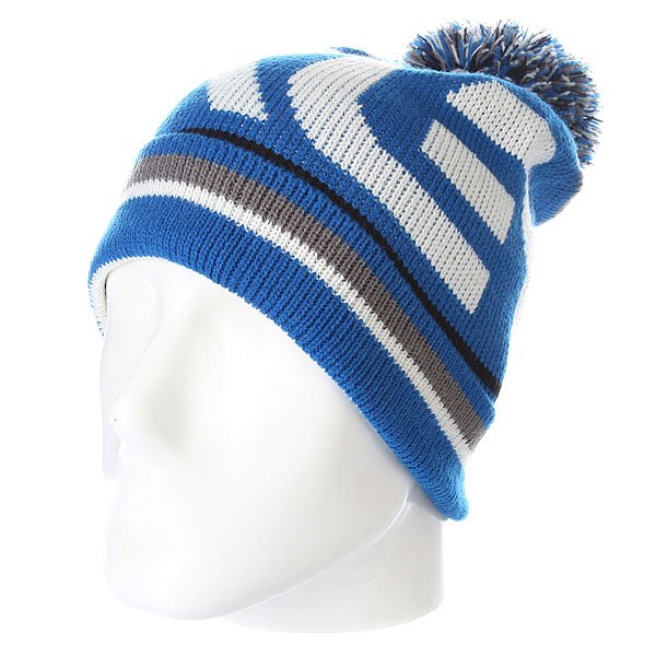 ����� � �������� Oakley Factory Winter Beanie Skydiver Blue