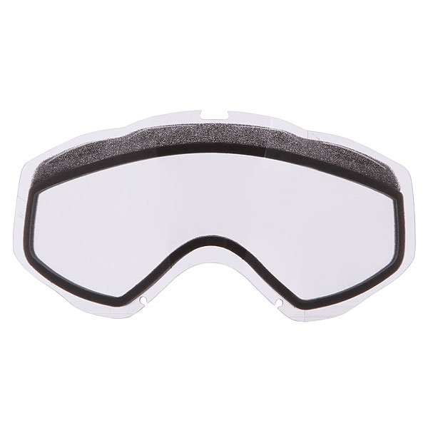 Линза для маски Oakley Repl. Lens Twisted Dual Vented/Clear<br><br>Цвет: белый<br>Тип: Линза для маски