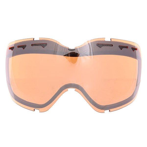 Линза для маски Oakley Repl. Lens Stockholm Dual Vented/Black Iridium<br><br>Цвет: оранжевый<br>Тип: Линза для маски