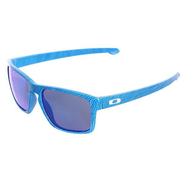 Очки Sliver Sky Blue/Sapphire Iridium Oakley