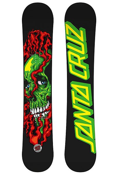 Сноуборд Santa Cruz Shred Till Dead 156 Red/Green