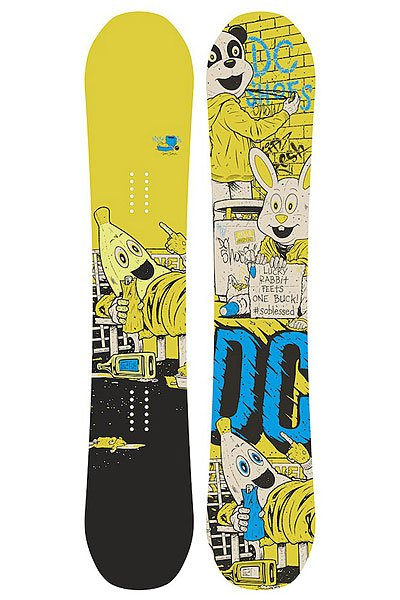Сноуборд DC Ply M Multi/Yellow 150