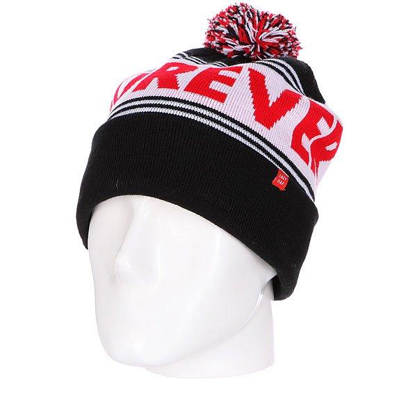 Шапка с помпоном женская Lazy Oaf Forever Dumb Bobble Hat Мulty