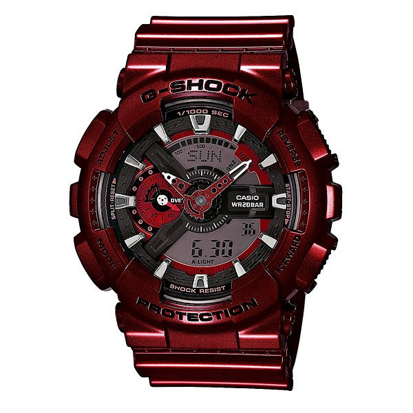 Часы Casio G-Shock Ga-110nm-4a Burgundy