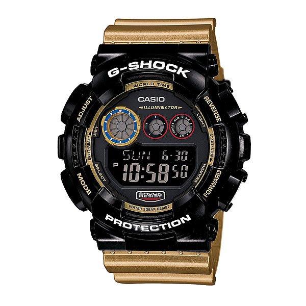 Часы Casio G-Shock Gd-120cs-1e Black/Gold casio g shock gd x6900mc 1e