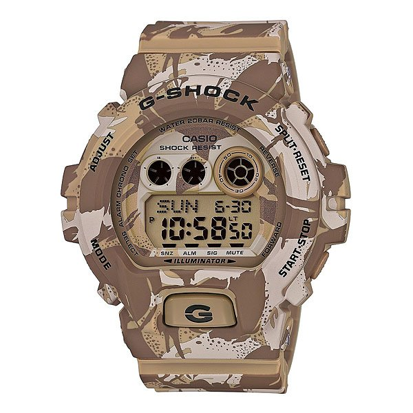 Часы Casio G-Shock Gd-x6900mc-5e Beige/Brown casio casio gd x6900mc 5e