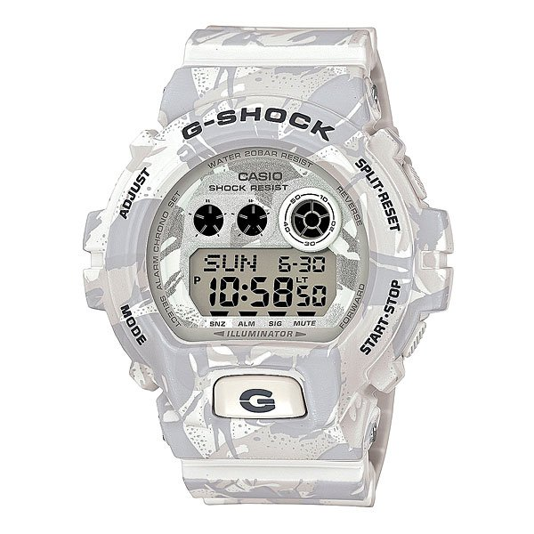 Часы Casio G-Shock Gd-x6900mc-7e White/Grey casio casio gd x6900mc 5e