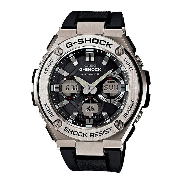 Часы женские Casio G-Shock Gst-w110-1a Black/Grey
