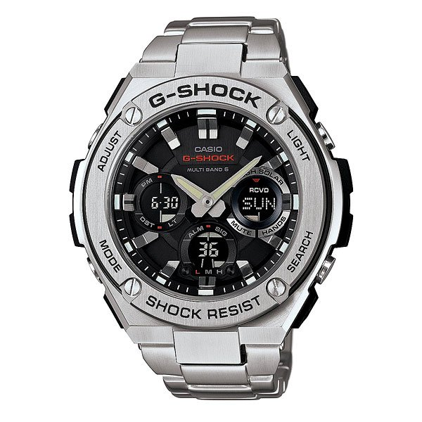 Часы Casio G-Shock Gst-w110d-1a Grey цена и фото