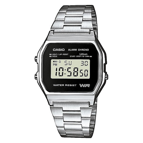 Часы Casio Collection A-158wea-1e Grey mavala carrousel color s collection 158 цвет 158 smokey blue variant hex name 284b5f