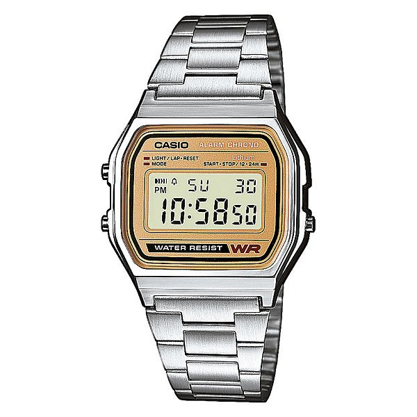 Часы Casio Collection A-158wea-9e Grey mavala carrousel color s collection 158 цвет 158 smokey blue variant hex name 284b5f