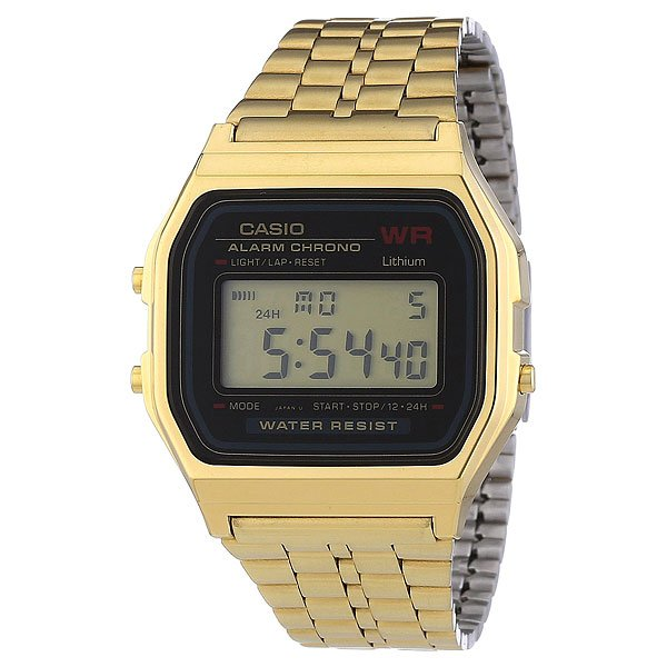 Часы Casio Collection A-159wgea-1e Gold часы casio collection a 158wea 1e grey