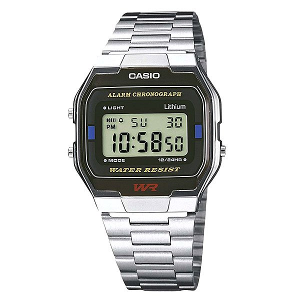 Часы Casio Collection A-163wa-1 Grey casio a 163wa 1 casio