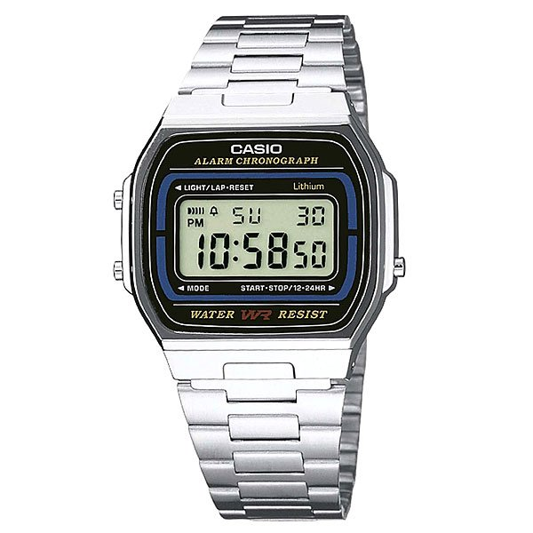 Часы Casio Collection A-164wa-1 Grey