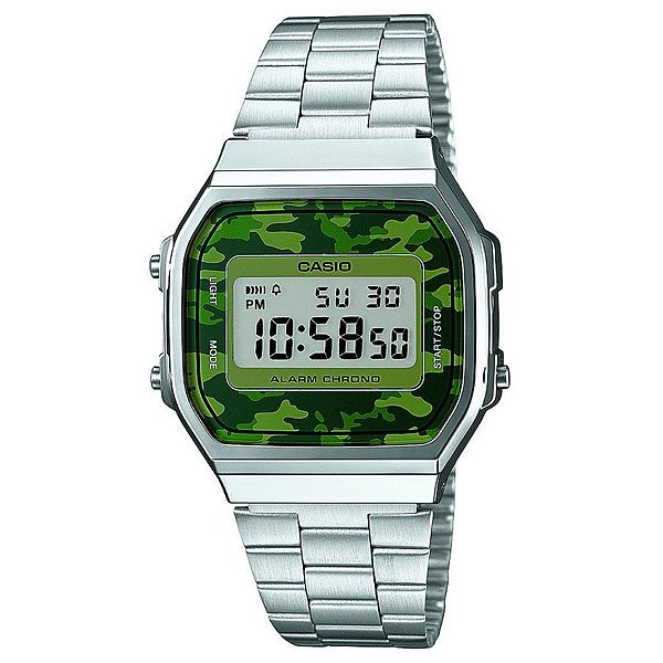 Часы Casio Collection A-168wec-1e Greu/Green