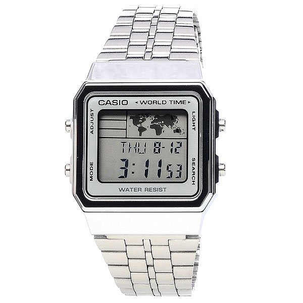 Часы Casio Collection A-500wea-1e Grey часы casio collection a 158wea 1e grey