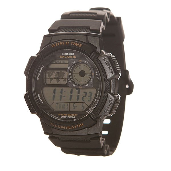 Часы Casio Collection Ae-1000w-1a Black часы casio collection ae 1000wd 1a grey