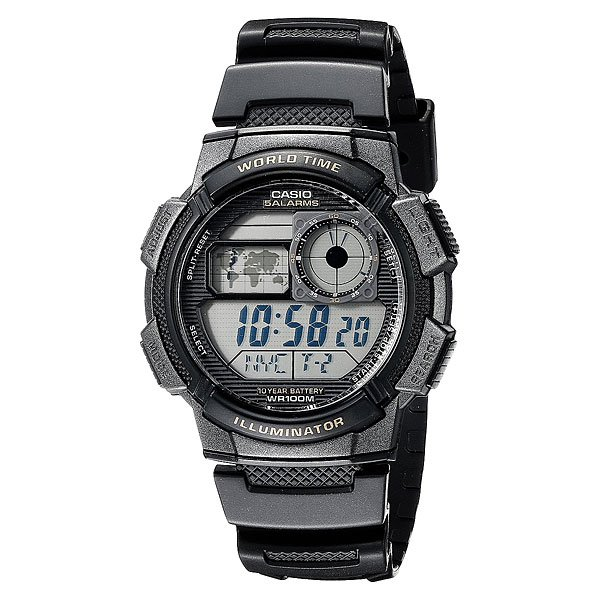 Часы Casio Collection Ae-1000wd-1a Grey часы casio collection ae 1000wd 1a grey