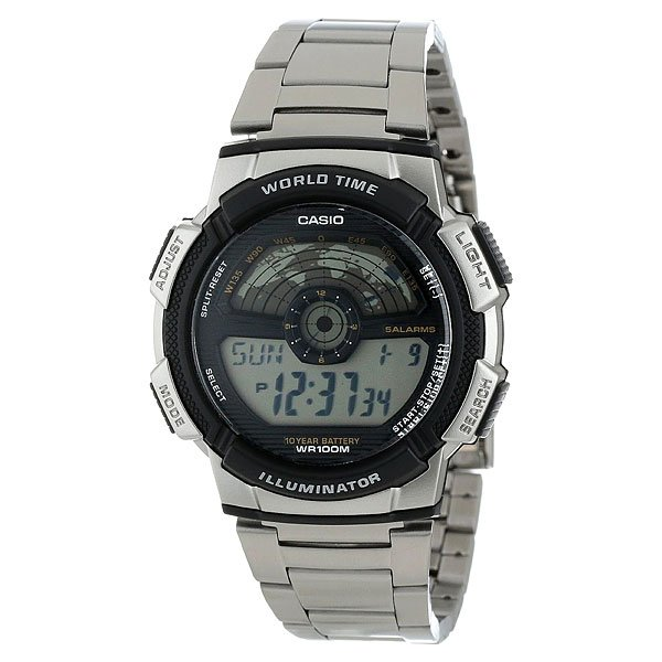 Часы Casio Collection Ae-2100wd-1a Grey