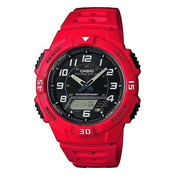Часы Casio Collection Aq-s800w-4b Red