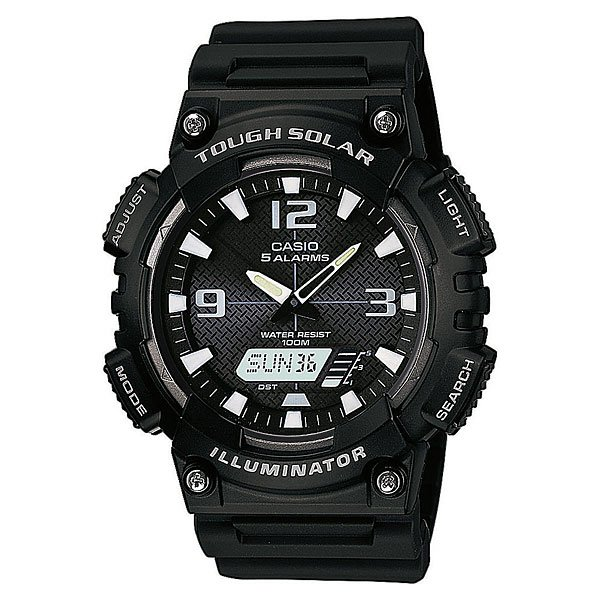 Часы Casio Collection Aq-s810w-1a Black