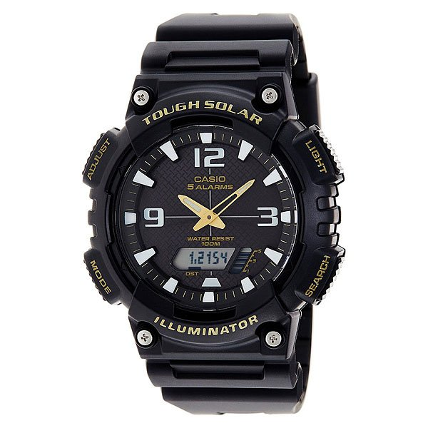 Часы Casio Collection Aq-s810w-1b Black