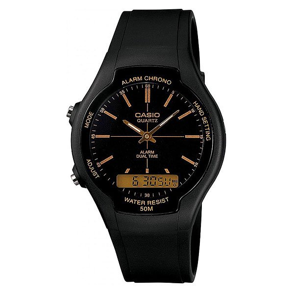 Часы Casio Collection Aw-90h-9e Black casio casio aw 90h 9e page 6 page 10