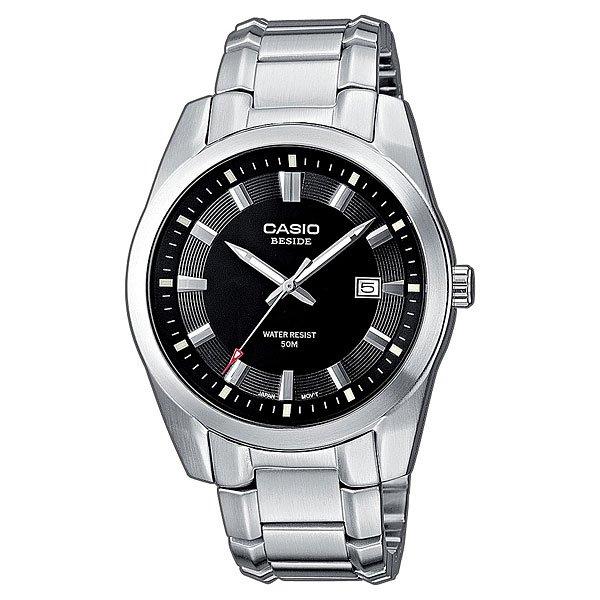 Часы Casio Collection Bem-116d-1a Grey часы casio collection bem 511l 7a black grey