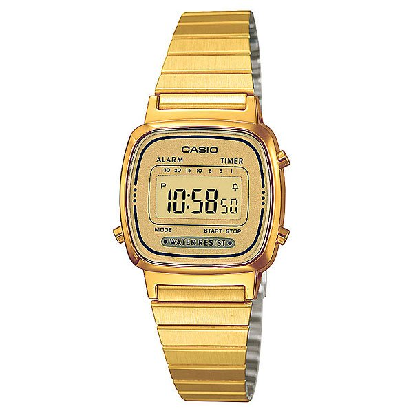Часы Casio Collection La670wega-9e Gold