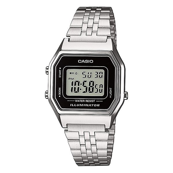 Часы женские Casio Collection La680wea-1e Grey часы casio collection a 158wea 1e grey