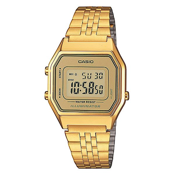 Часы женские Casio Collection La680wega-9e Gold