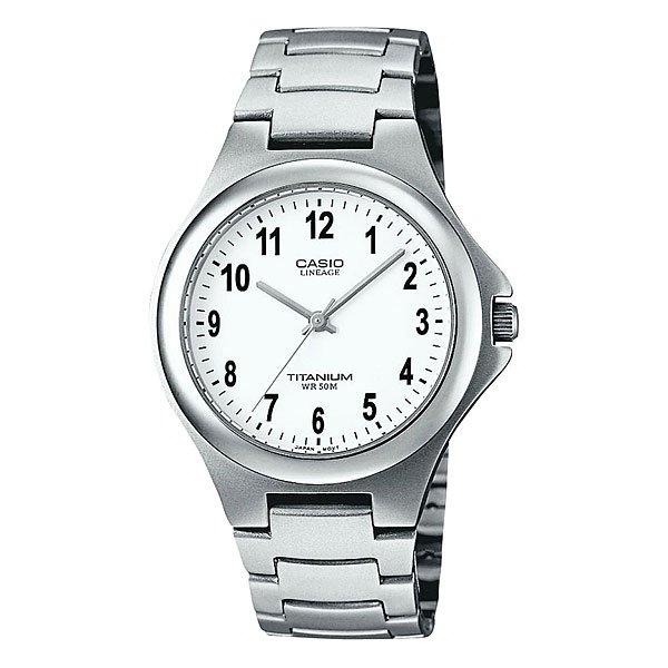 Часы Casio Collection Lin-164-7a GreyТехнические характеристики:  Дисплей с датой.Прочное, устойчивое к царапинам минеральное стекло защищает часы от повреждений.  Корпус из титана.Прочное, устойчивое к царапинам минеральное стекло защищает часы от повреждений. Резьбовое соединение на основании корпуса оптимально защищает внутренний механизм часов и одновременно обеспечивает легкий доступ, например, при замене аккумулятора.Аккумулятор обеспечивает часы достаточным питанием приблизительно на 2 года.   Всегда надежно: у этих часов есть особая безопасная предохранительная защелка, которая помогает предотвратить случайное расстегивание ремешка. Эти часы можно носить при принятии душа или ванны - часы проверены на водонепроницаемость до 5 Бар/на глубине до 50 метров.Точность:+/- 20 сек в месяц.  Тип батареи: SR626SW.<br><br>Цвет: серый<br>Тип: Кварцевые часы<br>Возраст: Взрослый<br>Пол: Мужской