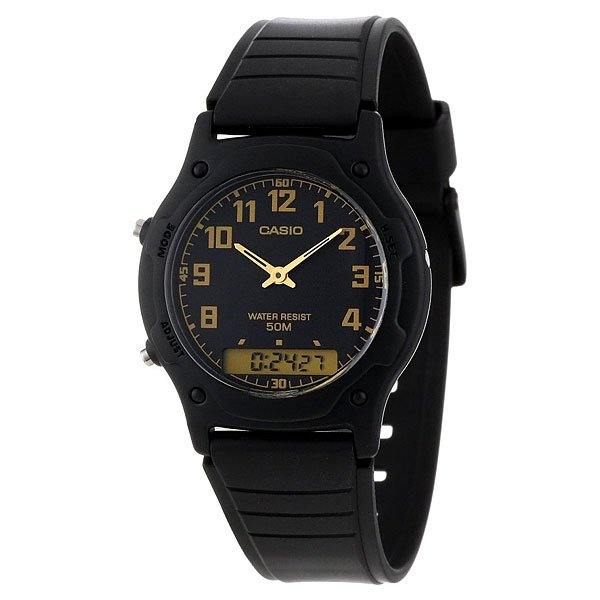 Часы Casio Collection Aw-49h-1b Black часы casio aw 80v 1b