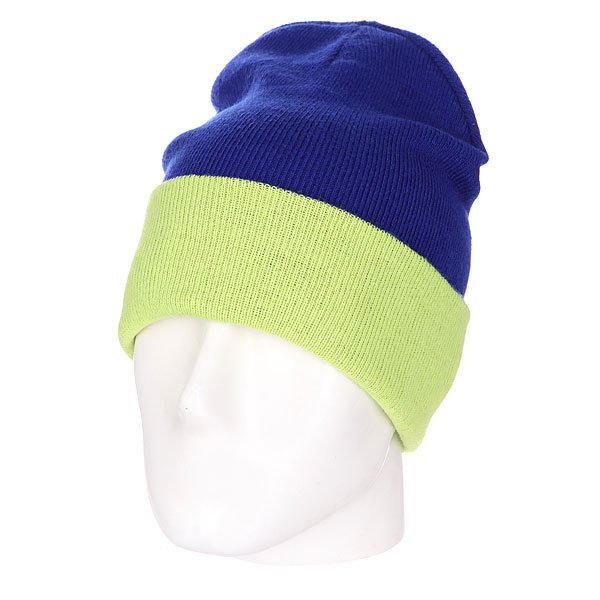 ����� ������������ Skills New Reversible Beanie Royal Lime