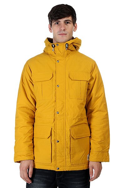 Куртка зимняя Quiksilver Long Bay Golden Spice